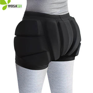 Pad Snowboard Shorts Ski-Roller Skating Protective-Butt Hockey Riding WOSAWE Kids
