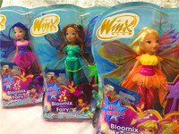 Believix Fairy Winx Club Doll rainbow colorful girl Action Figures Fairy Bloom Dolls For Girl Gift