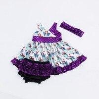 YK Loving Handbands Suspender Swing Top Set Dress Shorts Mermaid Style Cute Baby Clothing Sets New