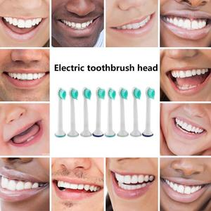 8Pcs/set Replacement Electric Toothbrush Heads Fits for Philips/Sonicare HX6024 Replacement Brush Heads Dropshipping