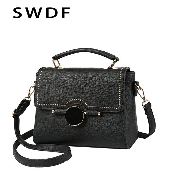 SWDF New Shoulder Messenger Bag Handbag Brands Leisure Fashion Bags Women Handbag 2017 Women Shoulder Bag High Quality Women Bag taomaomao women leisure canvas shoulder messenger bags handbag