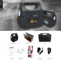 Профессиональные автомобиля Пусковые устройства 30000 мАч многофункциональный мини Портативный Размеры аварийного Батарея Зарядное устрой