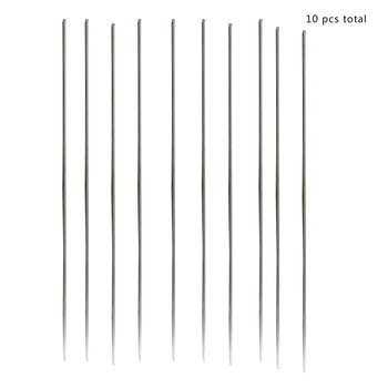 10pcs/set 1.6*230mm Metal Aluminum Magnesium Silver Electrode Welding Rod Flux Cored Wire Brazing Stick Soldering Tool Sale image