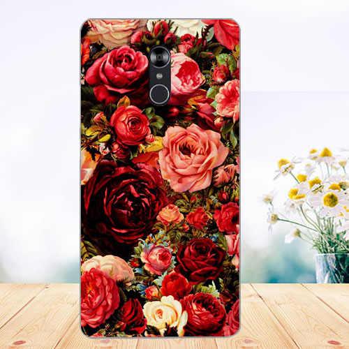 WEVEYE nowy obraz druku idealny kwiaty zwierzęta i wieże projekt etui na telefony dla Fly Cirrus 13 FS518 DIY etui na odpowiednio zaplanować podróż Fs518