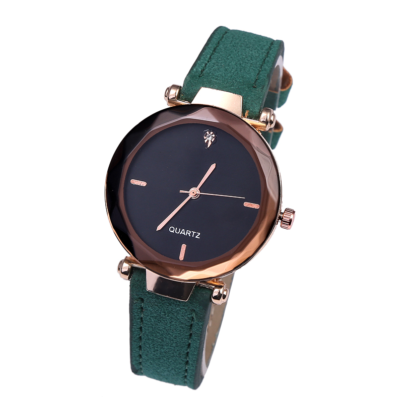 Hot Sell Fashion Casual Women Watches Diamond Prismatic Mirror Quartz Watch Foreign Trade Relogios Femininos