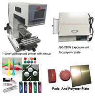 automatic work seal ink cup manual pad printer