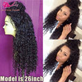 Cheap Kinky Curly Synthetic Lace Front Wig Heat Resistant Full Lace Synthetic Wig For Black Women Curly Front Lace Wig Synthetic