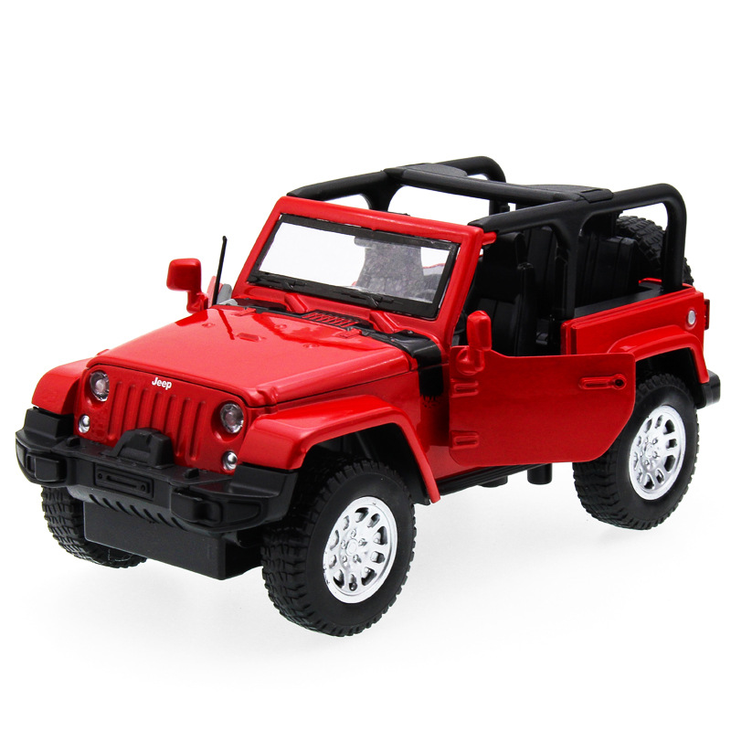 2017 Hot sell 1:32 SUV Jeep Diecast Alloy Metal Luxury Car Model Collection Model Pull B ...