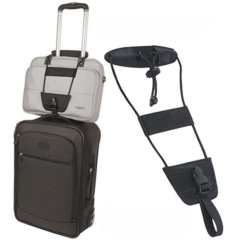 Outdoor Travel Luggage Suitcase Adjustable Belt Add A Bag Strap Carry On Bungee Straps Outdoor tools