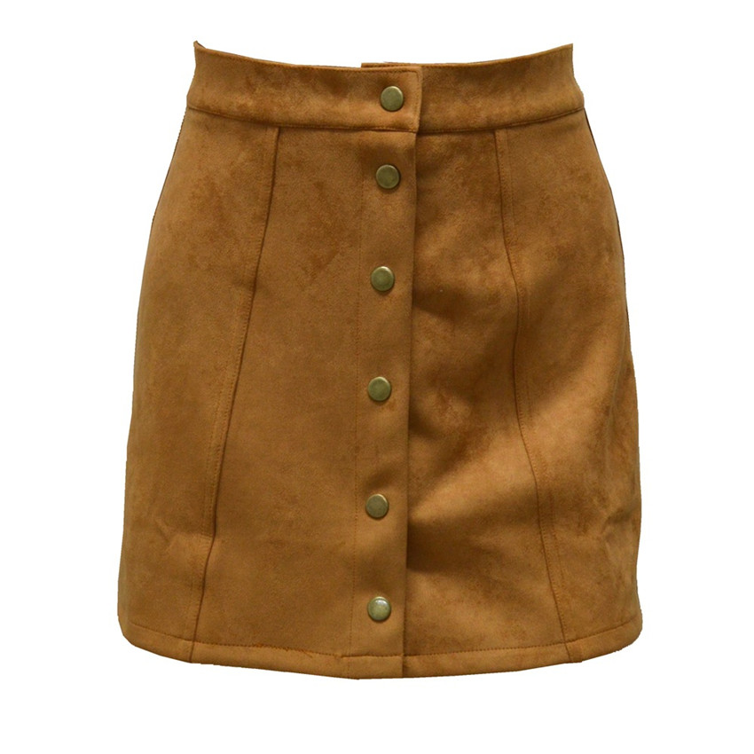HTB1YUDEPpXXXXcfXVXXq6xXFXXXl - Spring Button Suede Leather Skirts JKP058