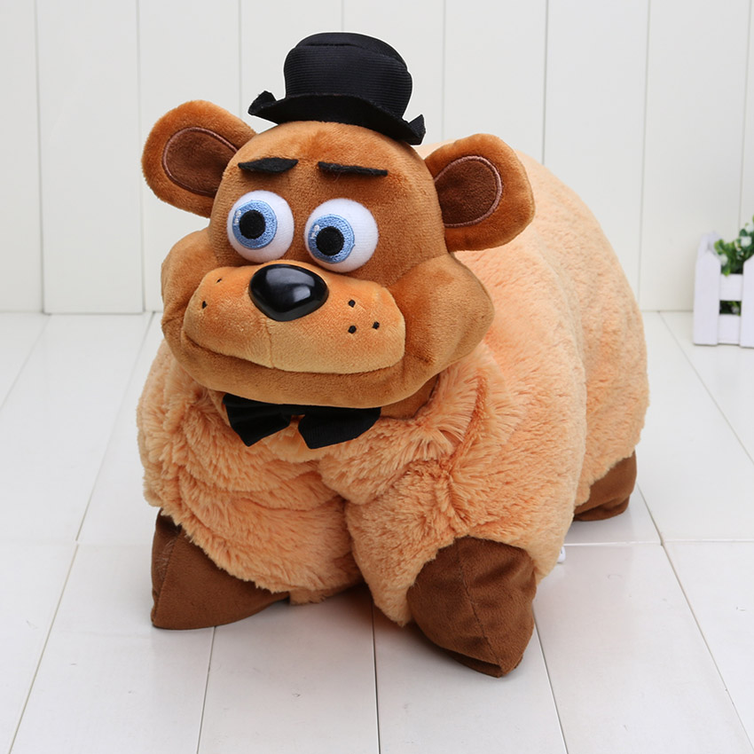 35pcs Lot 43cm30cm FNAF Five Nights At Freddys Plush Toys Golden Freddy Soft Stuffed Pillow Doll Brithday Gift In Movies TV From Hobbies On