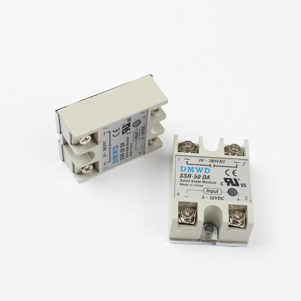 Top Brand Dmwd Solid State Relay Ssr 50da 50a 3 32v Dc To 24 380v Ac Schematic Da In Relays From Home Improvement On