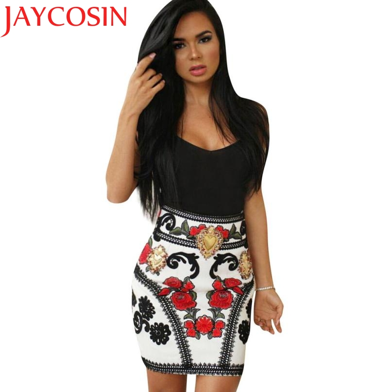 Dress JAYCOSIN Newly Design Women Sexy Empire Spaghetti Strap Shealth Club Dress 160517 Drop Shipping Vestido