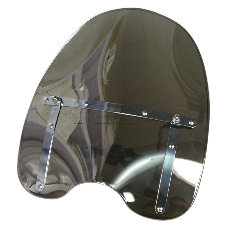 Windshield Windscreen For Harley Electra Glide Ultra Classic Limited Flhtk Peace Shrine Se Flhtcu Flhtcuse4/5/6/7/8 Chrome Providing Amenities For The People; Making Life Easier For The Population Automobiles & Motorcycles