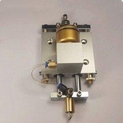 Automatyczna maszyna do cięcia szkła CNC CNC z-axis router nóż cutter box case podwójna kolumna okrągła głowica montażowa