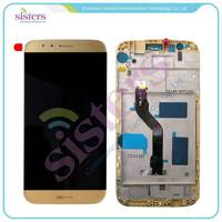 Wholesale High Quality LCD Display Touch Screen Digitizer Assembly With Frame For Huawei Ascend G8