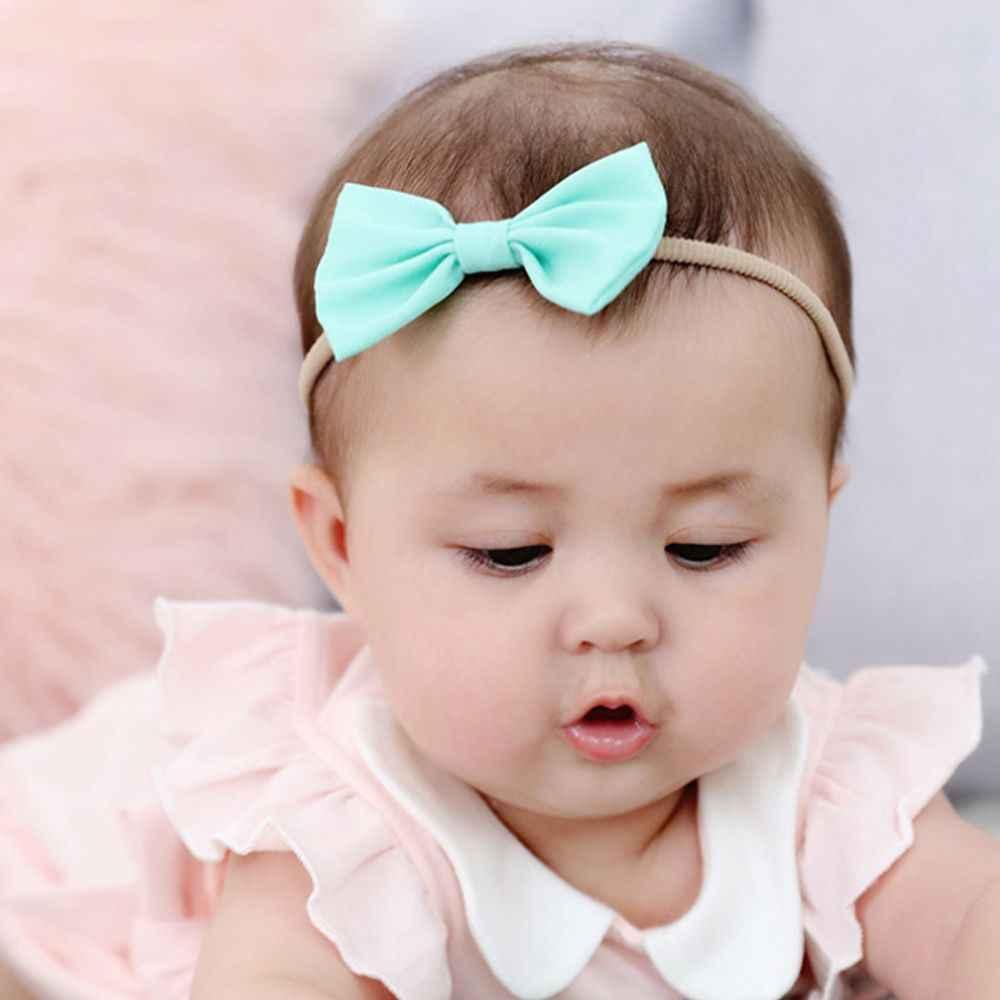 3 قطعة مجموعة طفل الفتيات عقال متعدد الألوان القوس عقدة رئيس ضمادة الاطفال الصغار أغطية الرأس رباط شعر الرضع الملابس والاكسسوارات
