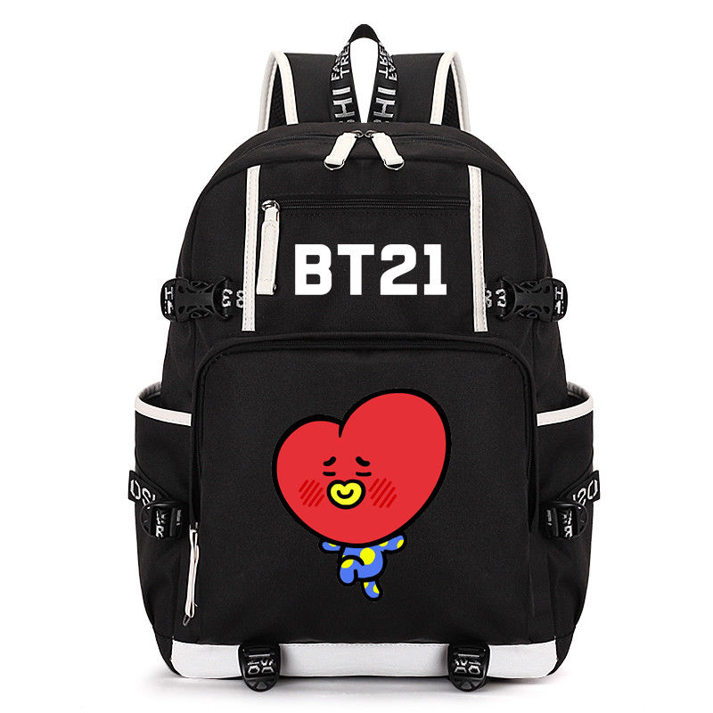 БЦ рюкзак Bangtan мальчиков Tata Bookbag сумка V Путешествия школьная сумка новый Дизайн Поклонники Коллекция
