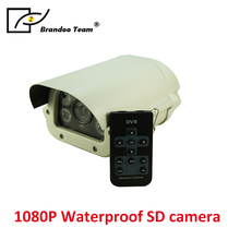 HD 1080P Wireless SD Card Slot Audio Camera 2 0MP security Camera IR Night Vision Waterproof