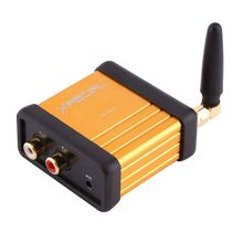 1pc Professional HIFI Bluetooth Audio Receiver Aluminum Wireless Adapter Stereo 3.5mm RCA Audio Power Amplifier Music Player стоимость