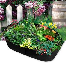Felt Planting Bag Flowerpot Vegetable Plant Growing Indoor And Outdoor Garden Seedling