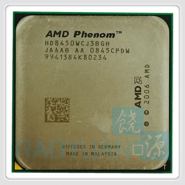AMD Phenom X3 8450 Triple-Core DeskTop 2.1GHz CPU HD8450WCJ3BGH Socket AM2+/940pin