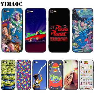 YIMAOC Toy Story Pizza Planet Soft Silicone Case For IPhone 5 5s SE 6 S 7 8 Plus