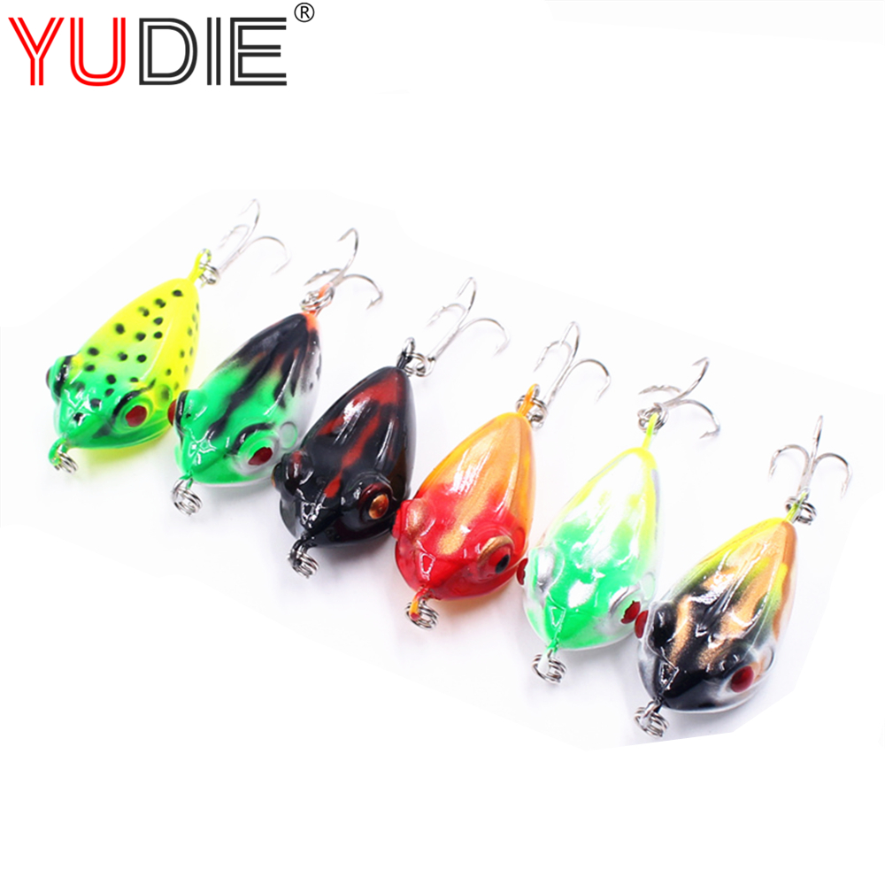 1pcs 4cm 6.7g Jump Frog Lure For Sea Carp Fly Fishing Spinner Bait Accessories Jig Hooks Tool Wobblers Fish Sport lures bosch smz 5300 00791039