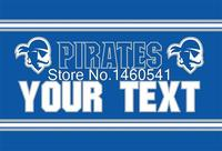 Seton Hall Pirates Man Cave Flag 3ft X 5ft Polyester NCAA Banner UCLA Bruins Flying Size