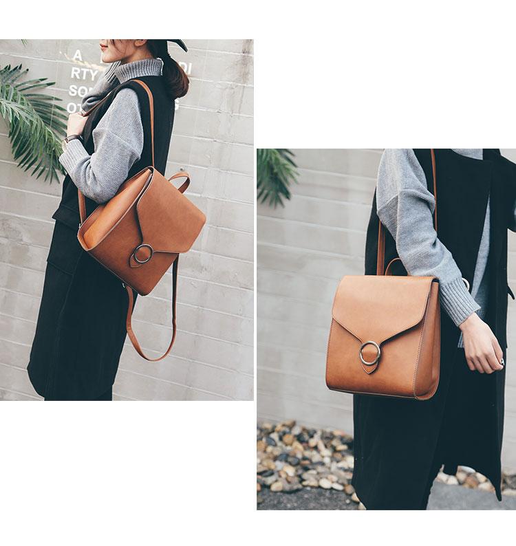 Retro Women's Rucksack Bag 22