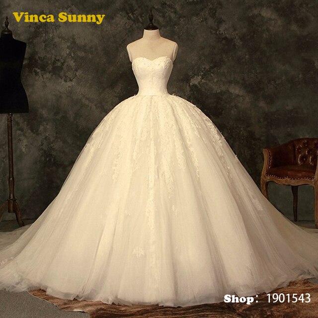 vinca sunny princesa bola vestidos de novia cenicienta vestidos de