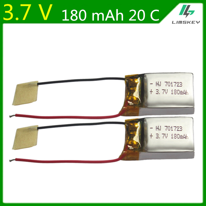 2pcs 3.7V 180mAh 20c Lipo battery For Syma S107G S109G S111G Remote Control Airplane beauty six-axis aircraft X900 X901 7017232pcs 3.7V 180mAh 20c Lipo battery For Syma S107G S109G S111G Remote Control Airplane beauty six-axis aircraft X900 X901 701723