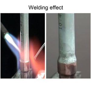 Image 4 - 10/20/30/50 pcs 1.6mm/2mm * 50 cm Lage Temperatuur Aluminium Lassen draad In Plaats Van WE53 Koper En Aluminium Staaf Geen Aluminium Poeder