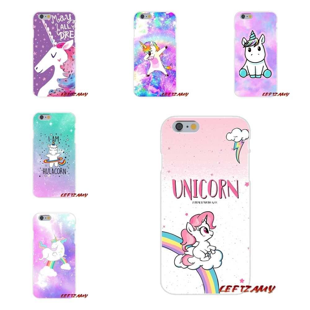 My little Rainbow unicorn For Samsung Galaxy S3 S4 S5 MINI S6 S7 edge S8 S9 Plus Note 2 3 4 5 8 Accessories Phone Cases Covers