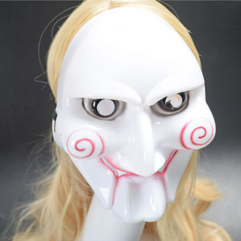 Halloween Horror movie Saw Ghost Masks Adult Costume Accessory Masquerade Purim Masked ball Carnival Rave party Cosplay Masks