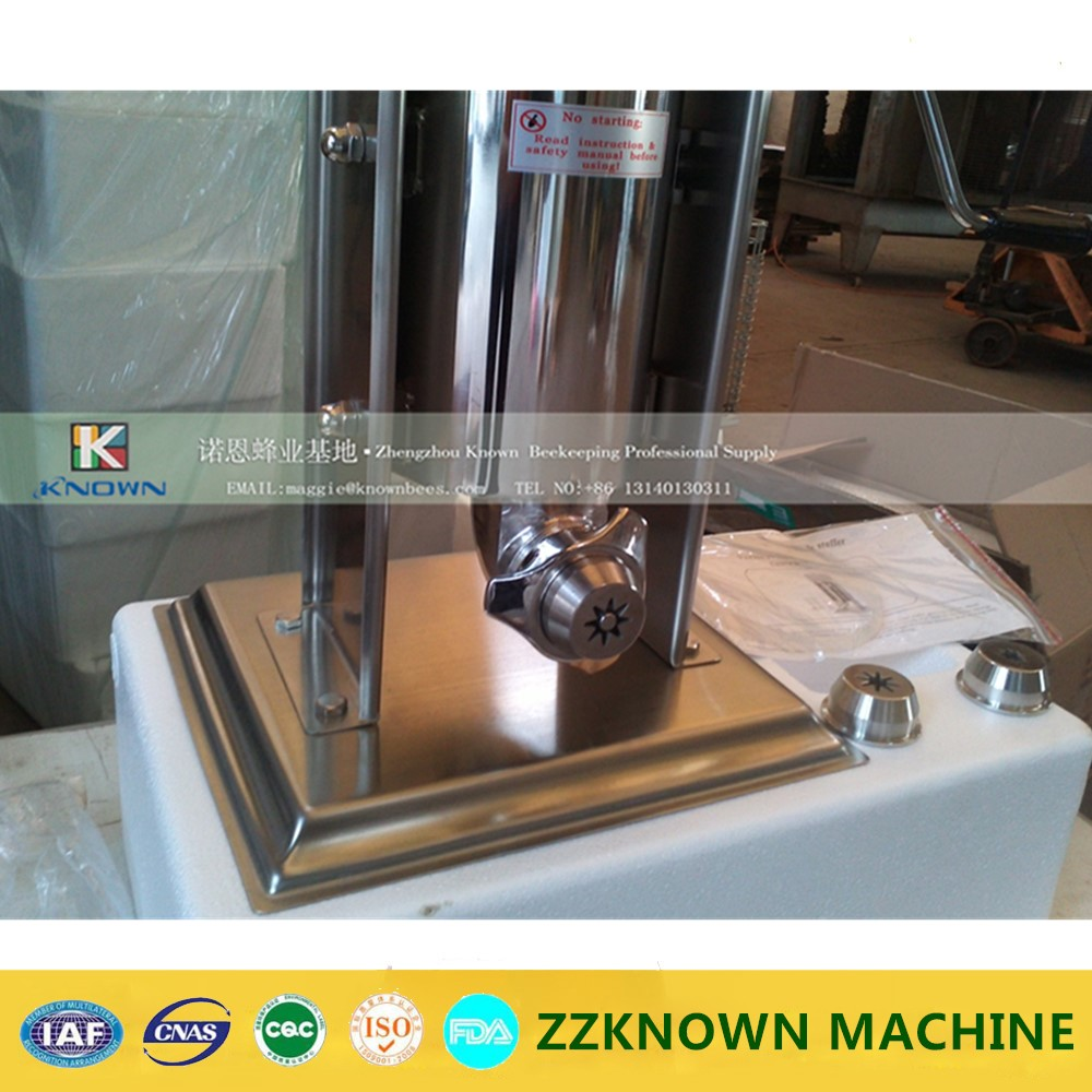 your better choice stainless steel 5L manual churros machine,churro maker, churros machine(also produce 2L 3L 7L 8L 10L 12L) commercial 5l churro maker machine including 6l fryer