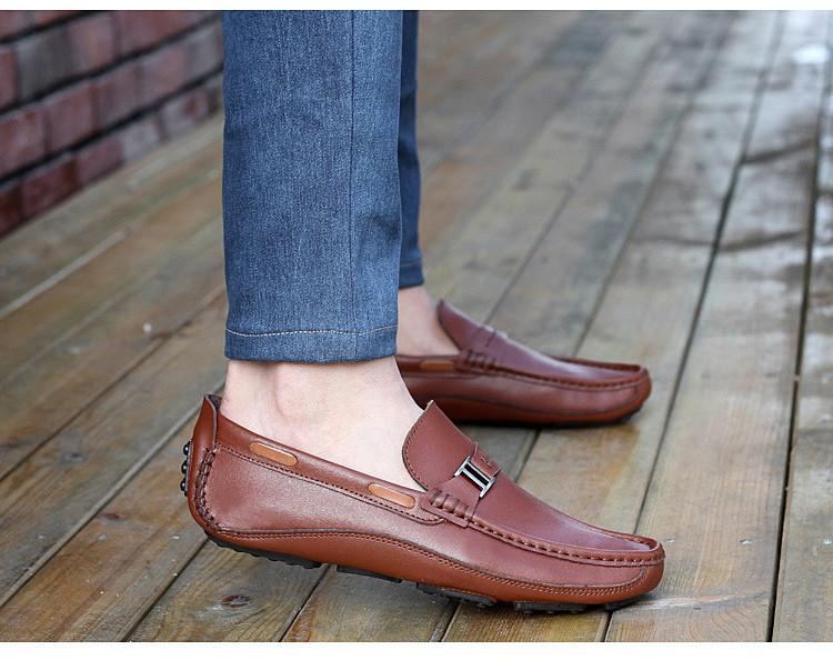 HN 1128 (9) Men`s Casual Loafers Shoe
