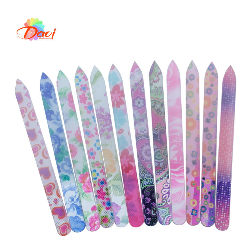 10 Pieces Glass Nail File Buff For Nails Durable Crystal File New ...