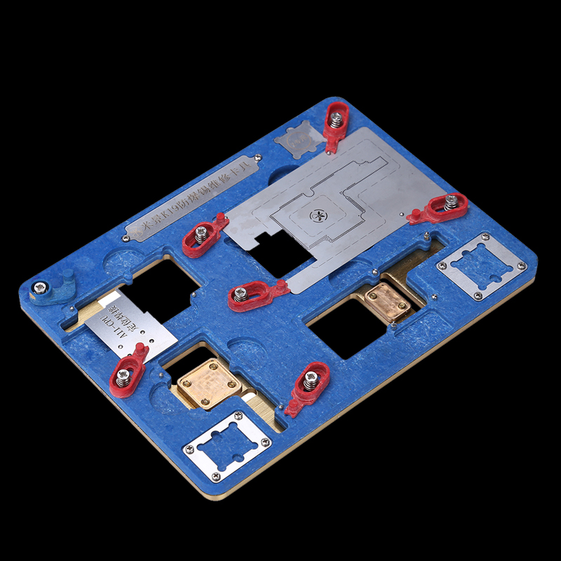 Motherboard Clamps High Temperature Main Logic Board PCB Fixture Holder For iPhone X Fix Repair Mold Tool|Hand Tool Sets| |  - title=