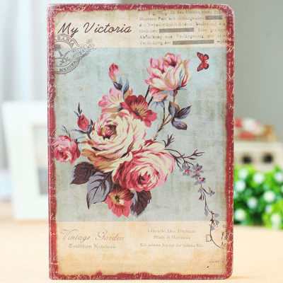 Floral Hardcover Notebook Mawgie