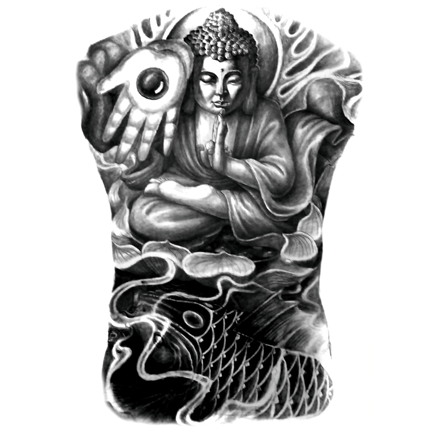 popular buddhist tattoos buy cheap buddhist tattoos lots from china buddhist tattoos suppliers. Black Bedroom Furniture Sets. Home Design Ideas