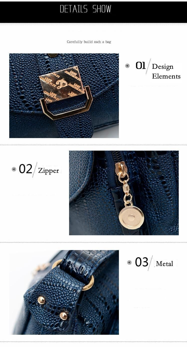 16 Women Messager Bags High Quality PU Leather Shoulder Bag Mom Causal Crossbody Bags Women Handbags Bolsas #16Me31/9 8