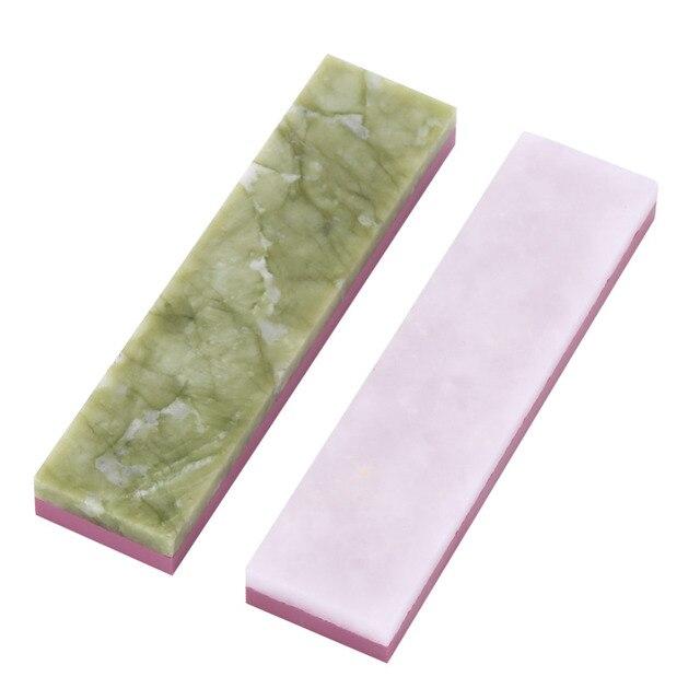 1 pieza afilador Unid de piedra Natural wetstone herramienta de pulido de dos lados (Dual) 10000 #3000 # Grit