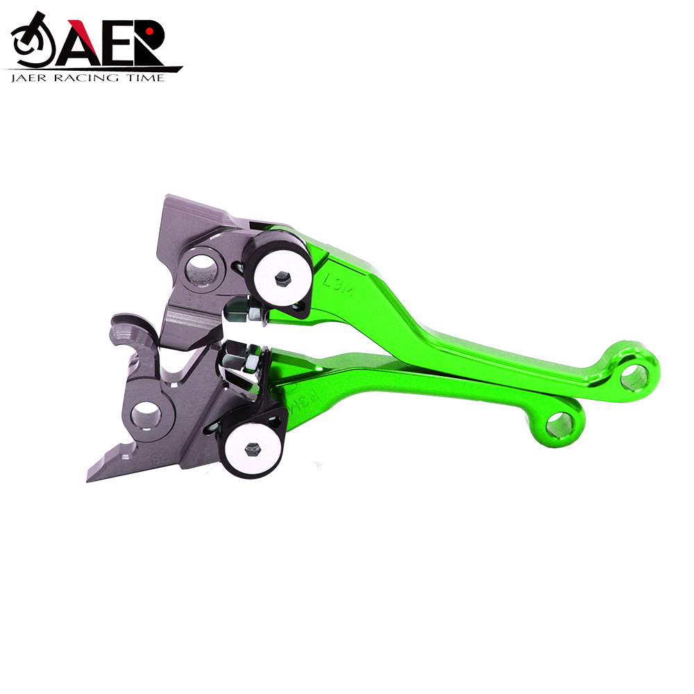 Image 3 - JAER CNC Pivot Foldable Clutch Brake Lever For Kawasaki KLX125 D TRACKER125 2010 2016 KLX250 DTRACKER 2008 2016 KLX150S 09 2013-in Levers, Ropes & Cables from Automobiles & Motorcycles