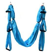 Equipamento ajustado da rede da ioga para o corpo do pilates que dá forma ao dispositivo aéreo da tração do balanço da ioga da tela da rede da ioga da anti gravidade