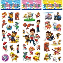 New Paw Patrol Dog Sticker Toys Patrulla Canina Action Figures Toy Kids Children Toys Gifts paw patrol toys command center control tower series patrulla canina music headquarters action figures toys for children gifts