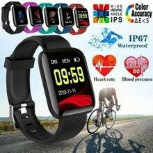 116 PLUS Smart Bracelet D13 Heart Rate Blood Pressure Waterproof Watch