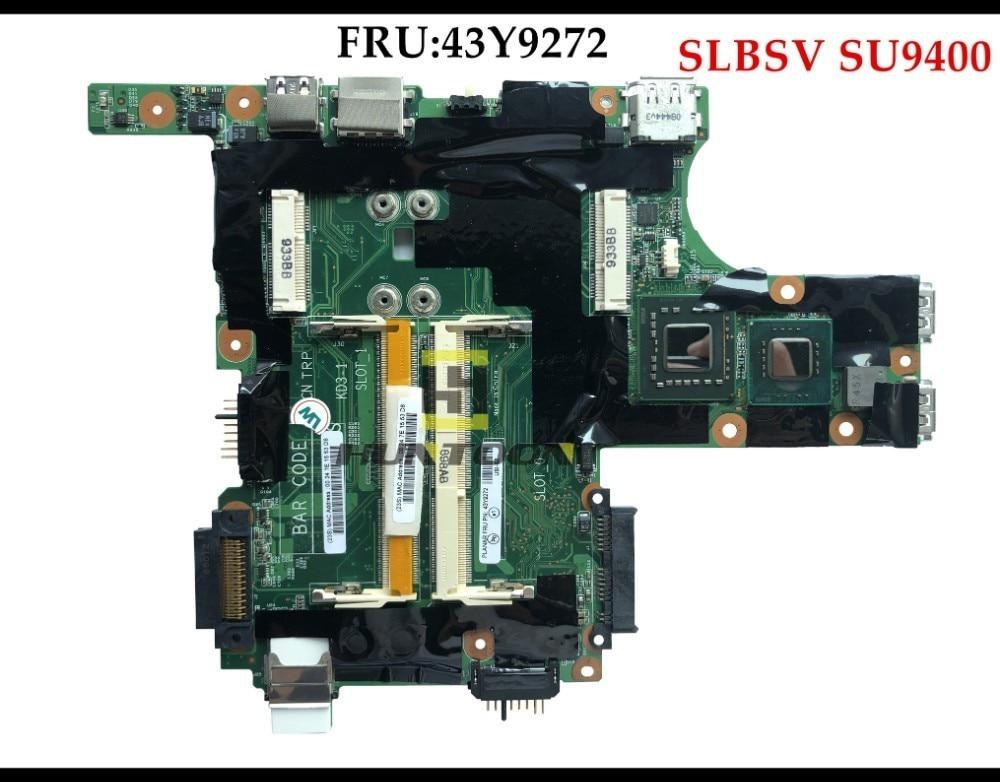 FRU 43Y9272 For Lenovo Thinkpad X301 Laptop Motherboard 60Y3785 43Y9264 42W8114 43Y9210 63Y1311 SU9400 1 4GHZ