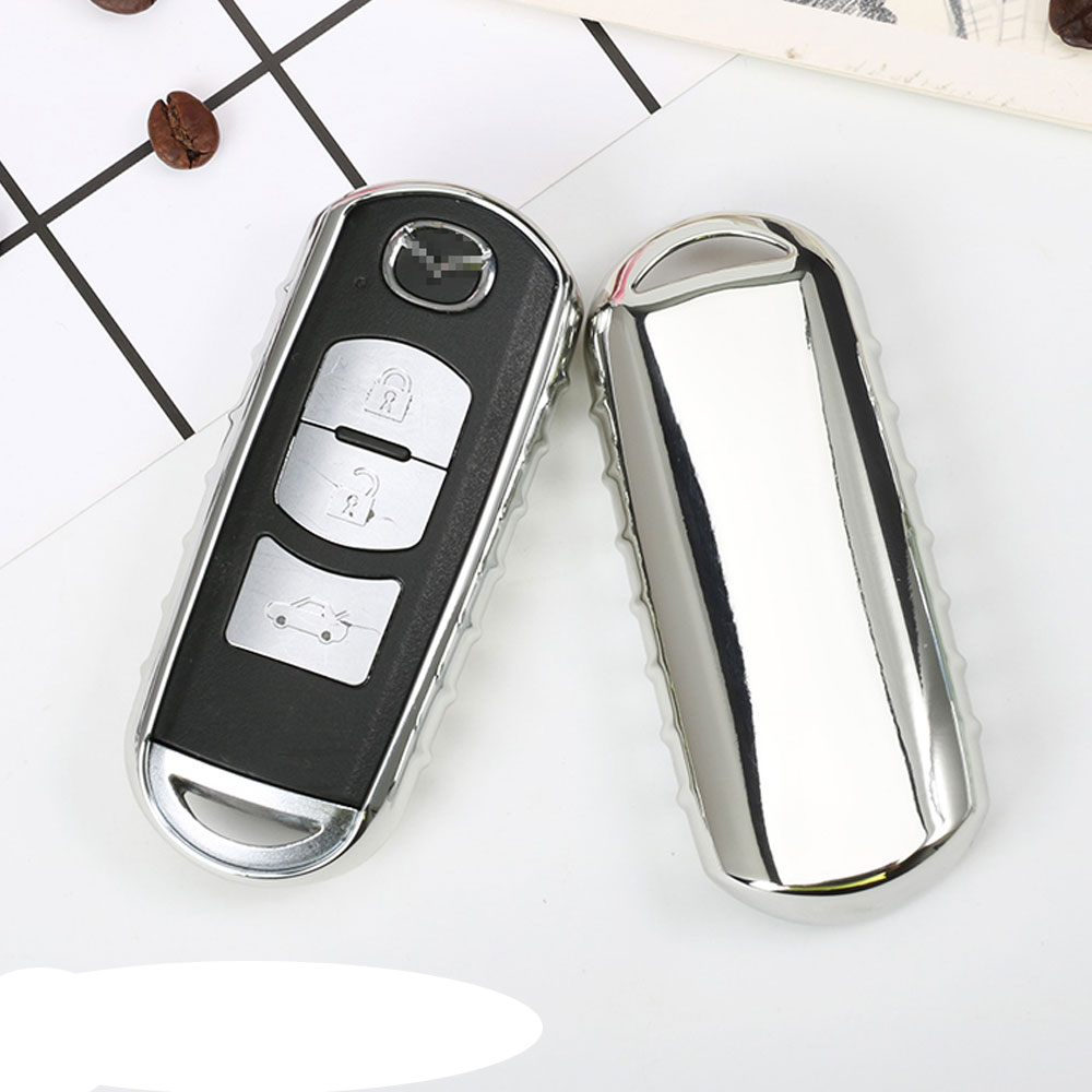 Original Design Bright Colorful Soft TPU Car Key Cover Case fit for Mazda 2 3 5 6 2017 CX-4 CX-5 CX-7 CX-9 CX-3 CX 5 Accessories original 5 1658462 3