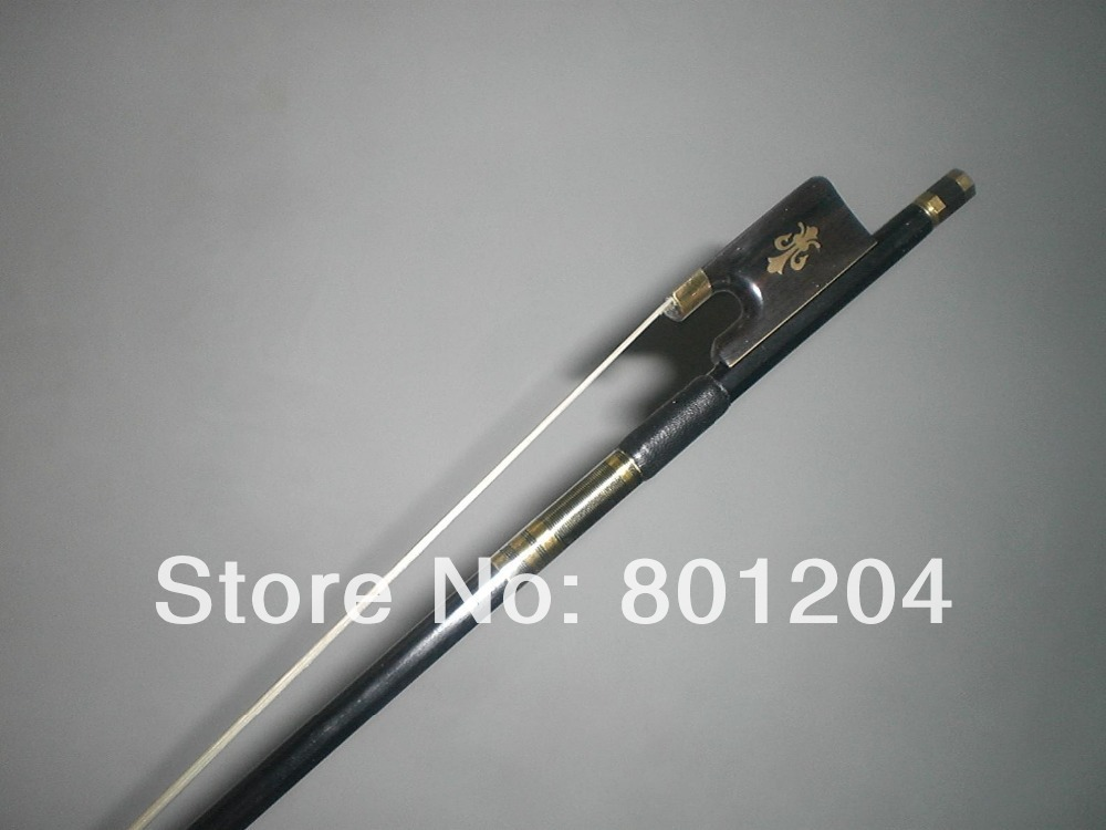 3 PCs of Quality VIOLA Carbon Fiber bow Black carbon fiber VIOLA bow one viola bow plaid carbon fiber round
